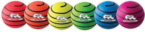 Champion Sports Rhino Skin Neon Foam Ball Set (Multi)