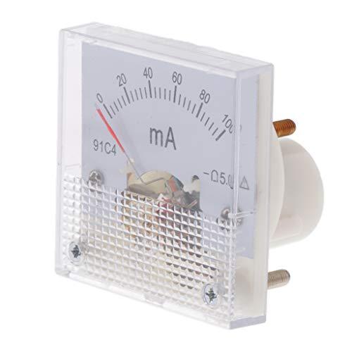 VANKOA Amperemeter Messgerät Messgerät Genauigkeits Stromkreis Messung Des Analogen Strom Plattenverstärkers - 0-100 mA