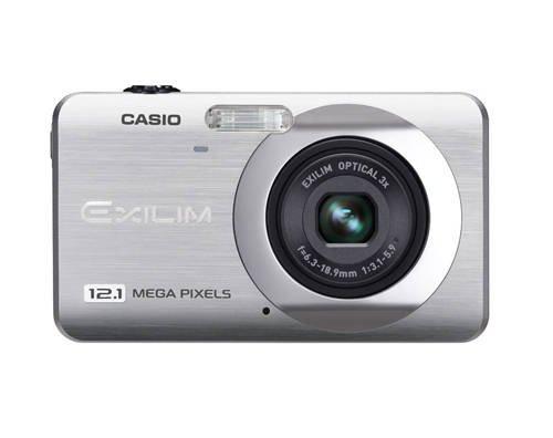 Casio Exilim EX-Z90 SR - Cámara Digital Compacta 12.1 MP (2.7 Pulgadas LCD, 3X Zoom Óptico), Plateado