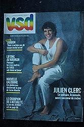 VSD 393 MARS 1985 COVER JULIEN CLERC INTERVIEW RICHARD GOTAINER