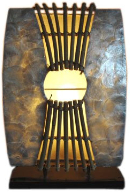 Tischlampe Perlmutt II Tischleuchte 37cm B00DI6S8A2    Fairer Preis