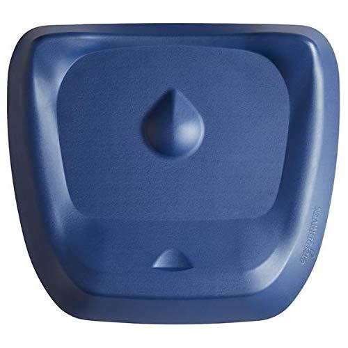 Topo Comfort Mat by Ergodriven | The Not-Flat Standing Desk Anti-Fatigue Mat with Calculated Terrain | Standing Desk Mat | Comfortable Standing Mat | Office Mat | Desk Accessories | Denim Blue