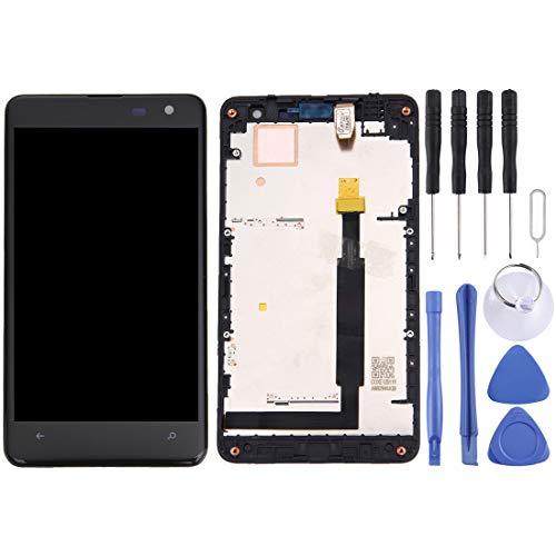 MENGHONGLLI Display LCD del Telefono Cellulare Display LCD + Pannello Touch con Cornice per per Nokia Lumia 625 Touch Screen del Telefono Cellulare