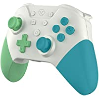 OLCLSS Wireless Switch Pro Controller for Nintenndo Switch/Switch Lite with 620mAh Built-in Battery, Supports Gyro Axis, Turbo, NFC Amibo Function and Dual Vibration
