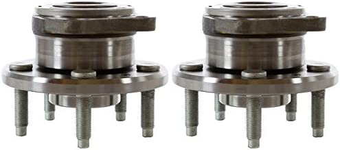 AutoShack HB612302PR Max 41% OFF Pair of Beauty products 2 Wheel Rear Bearing and Hub Driver