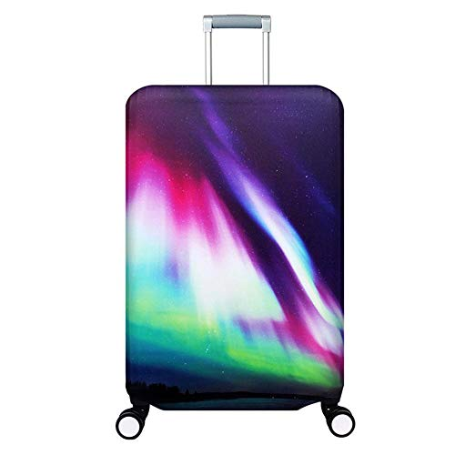 Best Buy! Vaskey Elastic Washable Luggage Protector Case Suitcase Protective Cover with Zipper