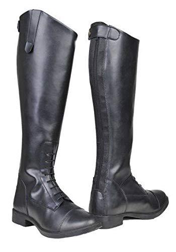 HKM Erwachsene Reitstiefel -New Fashion-, Kinder/Damen9100 schwarz41 Hose, 9100 schwarz, 41