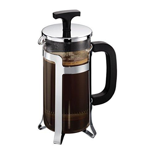 Bodum - 10414-16 - Jesper - Cafetière à Piston 3 Tasses - 0,35 L , Noir, Argent, Tungsten