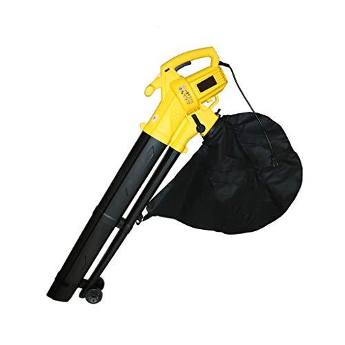 Great Deal! wangzi 3000W Electric Garden Leaf Blower/Vacuum Shredder,45L Grass Bag with Dual Blowing...