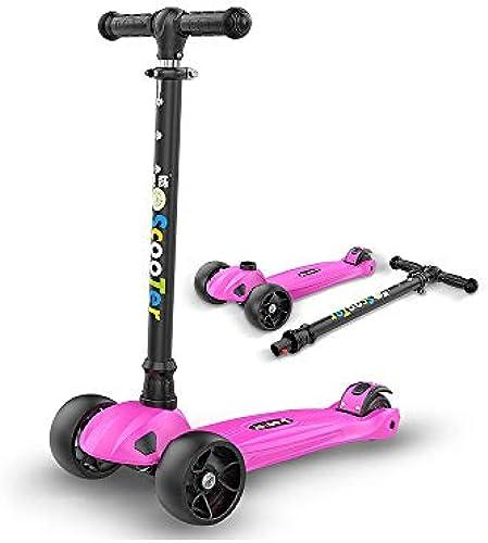 MEILA Kinder Roller Junge breite Rad Baby EIN fu ind Pedal rutsche Block anf er Roller Skating Spielzeug Verstellbarer Griff licht Junge einzelpedal Mini Roller