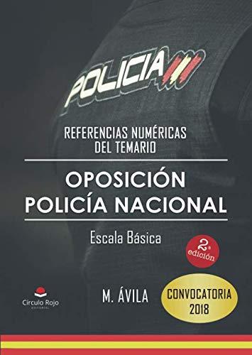 Referencias Numéricas Del Temario. Oposición Policía Nacional Escala Básica