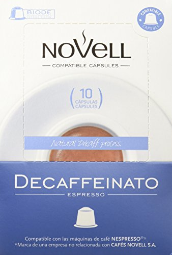 Cafes Novell Pack Decaffeinato - 40 Cápsulas