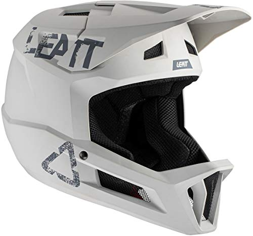 Leatt Casco MTB 1.0 DH Bicicletta Adulto Unisex Grigio Steel, L