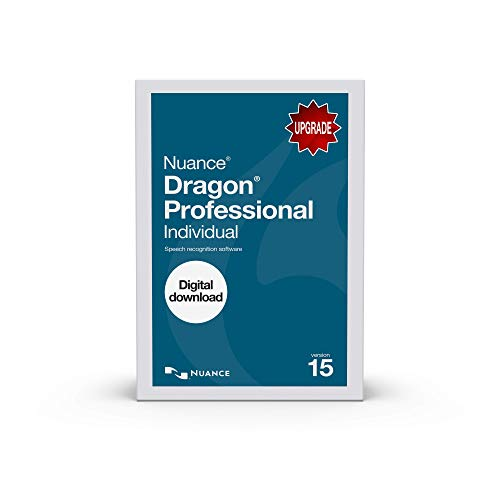 Dragon Professional Individual 15.0, Upgrade from Professional Versions 12.0 and Up [PC Download]