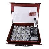 Ventosas Cupping Masaje Facial Magnético Therapy Set - Vacío Ahuecamiento Masaje Ventosas Terapia Celulitis, Anti Ventosas Celulitis Masaje Anticelulitis Aparatos Anticelulítico Masajeadores
