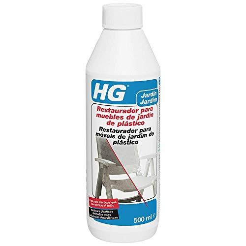HG 126050109 - Restaurador Muebles Jardín Plástico, Envase de 0.5 Litros
