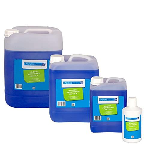 POOLSBEST® 5 L Algenverhüter extra hochkonzentriert & schaumfrei Algenmittel fürs Schwimmbad - sorgt für klares Wasser