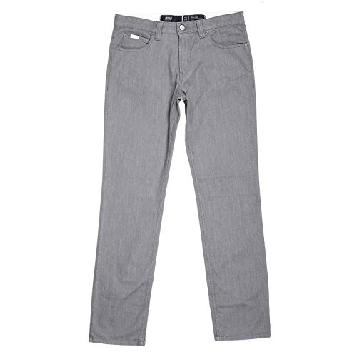 Giorgio Armani Regular Fit J15 - Pantalones vaqueros elásticos para hombre, color gris