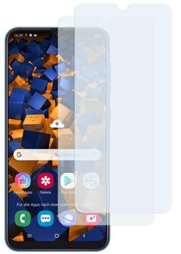 mumbi Schutzfolie kompatibel mit Samsung Galaxy A50 Folie klar, Displayschutzfolie (2X)