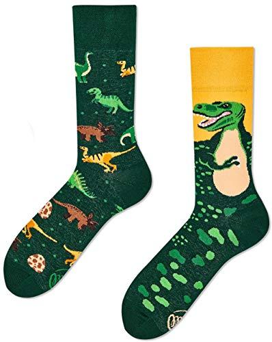 Many Mornings Socken - The Dinosaurs - Dinosaurier (39-42, THE DINOSAURS)