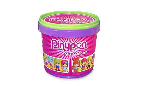 Pinypon- CuboMix and Match de 10 Figuras niñas a Partir de 4 años (Famosa 700015656)