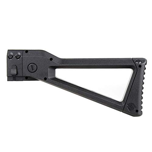 WORKER AK Style Shoulder Stock for nerf N-Strike Elite and Nerf Modulus Series Toys(Black)