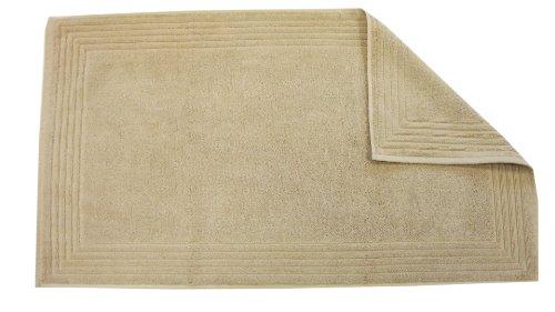 Blanc des Vosges badmat, katoen, 90 x 50 cm (E7T11-15), zandkleuren