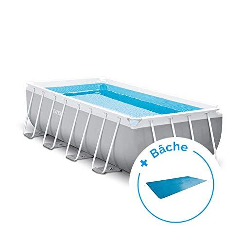 Pack piscina tubular Intex Prism Frame 4,88 x 2,44 x 1,07 m + ...
