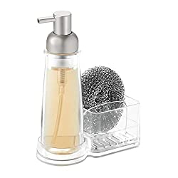 iDesign Clarity Plastic Soap Dispenser and Caddy Countertop Organizer Review