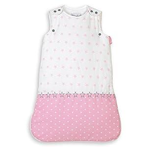 NioviLu Design Saco de dormir para bebé – Plein D' Étoiles (0-6 meses / 70 cm – 2.5 Tog)