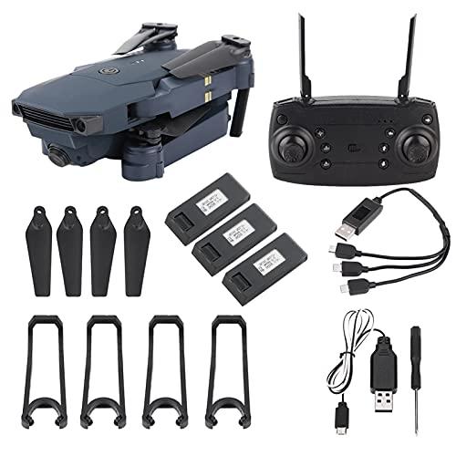 Drone RC Pieghevole, 2.4GHz 4CH 200W Telecamera grandangolare WiFi Quadcopter RC Drone One Key Decollo / Atterraggio per Principianti