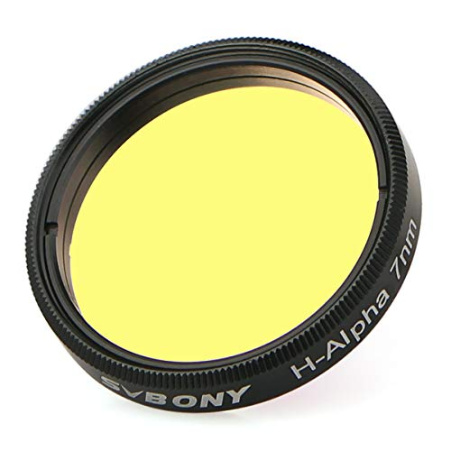 SVBONY Telescope Filter H-Alpha 7nm 1.25 inches Filter Narrowband Astronomical Photographic CCD Filter for Deep Sky