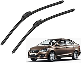 Auto Hub Car Wiper Blades for Maruti Suzuki Ciaz - Set of 2 Pcs (D-24,P-16)