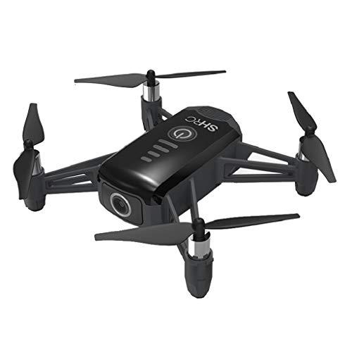 Dapei SHRC H2 RTF Drohne mit Kamera HD 2K WiFi FPV RC Quadcopter, Optische Durchfluss Positionierung Smart Follow Batterie überwachung, mit Ersatzbatterie & Aufbewahrungsbox (Schwarz)