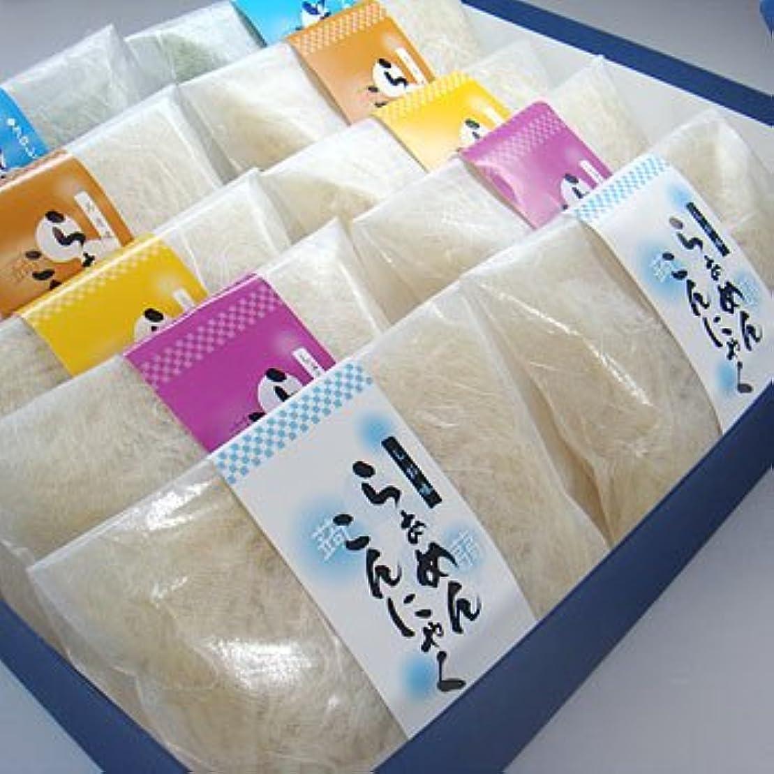 舌飢スピーチギフト箱入こんにゃくラーメン10食セット【お中元】【ギフト】【ダイエット】【蒟蒻麺】