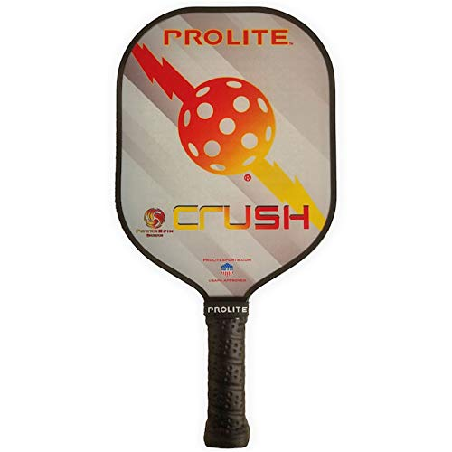 Pro-Lite Prolite Crush Power Spin Pickleball Paddle 13mm Noise Dampening
