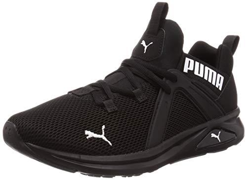 PUMA Enzo 2 Men's Outdoor Multisport Training Shoes, Puma Black-puma White, 12 US
