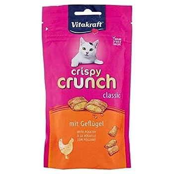 Vitakraft Crispy Crunch Cœur Poulet Friandise pour Chat 60 g