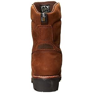 """Wolverine Men's Chesapeake Waterproof Steel-Toe EH 8"""" Logger Work Boot (10.5 M in Brown)"""