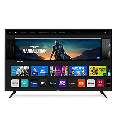 VIZIO 58-Inch V-Series 4K UHD LED HDR Smart TV with Apple AirPlay and Chromecast Built-in, Dolby Vision, HDR10+, HDMI 2.1, Auto Game Mode and Low Latency Gaming, V585-J01, 2021 Model