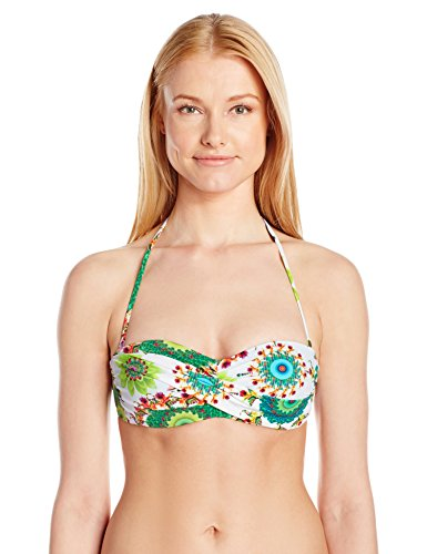 Desigual Damen Bikinioberteil BIKI_TOP, Weiß (White), Gr. M (Herstellergröße:L)