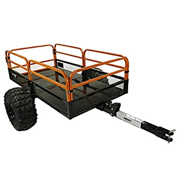 MotoAlliance Impact ATV/UTV Heavy Duty Utility Cart Cargo Trailer 1500lb Capacity 15 cu ft.
