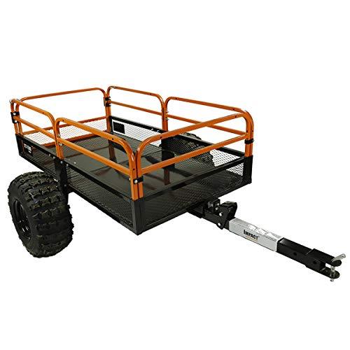 MotoAlliance Impact Implements ATV/UTV Heavy Duty Utility Cart,...