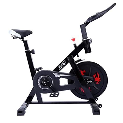 SAFGH Bicicleta estática para el hogar giratoria Equipo de Fitness silencioso para Interiores Bicicleta de Pedales Bicicleta estática