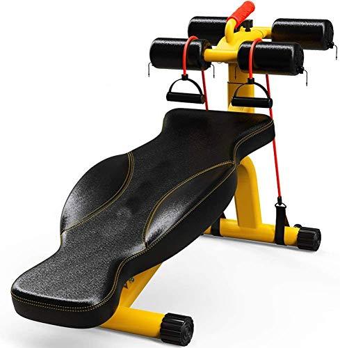 TIANYOU Ganzkörperübungen Multifunktionale Fitness Bank Bauchmuskeltraining Hantel-Bank Professionelle Faltbare Heim-Fitnessstudio Tragbar Hantelbänke Bauchbank