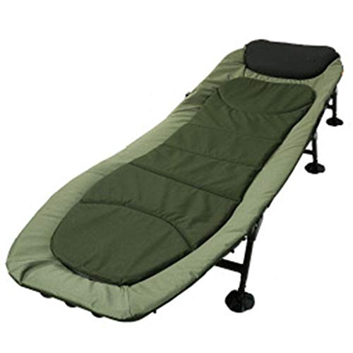 JOLLY Folding Camping Cot,Outdoor Portable Camp Bed, Hiking Army Military Style...