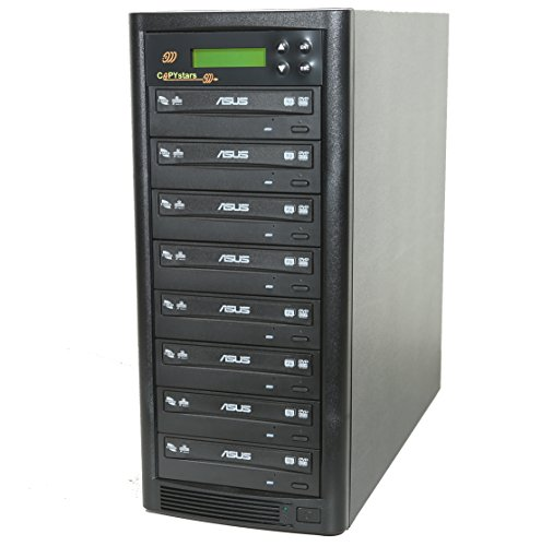 Copystar DVD Duplicator Sata 1 to 7 24X DVD-Burner Drive CD DVD Duplicator Writer Copier Tower