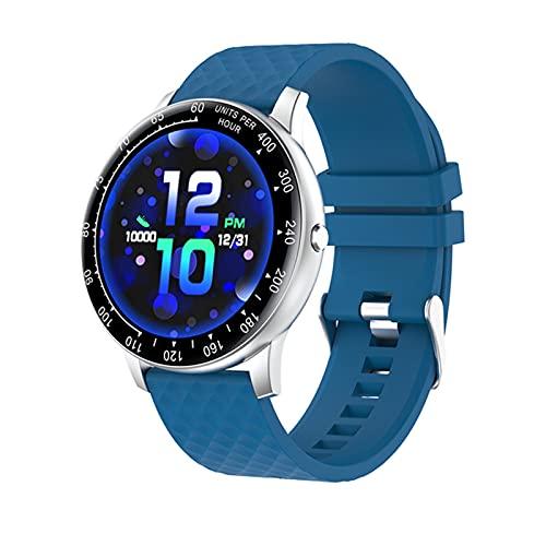 Smart Watch Uomo Uomini H30 Gioco di Te Guarda Bluetooth Chiamata Full Touch Fitness Tracker Frequenza Cardiaca Smart Orologio Smart Orologio Smartwatch per Telefono iOS,M