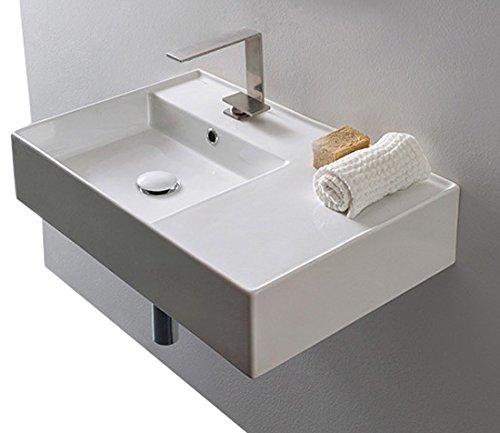Rectangular Sink with Storage