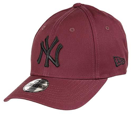 New Era New York Yankees 9forty Adjustable Kids Cap League Essential Maroon/Black - Youth